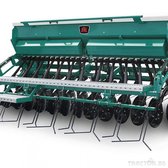 Сеялки Механична сеялка за зърнени култури ARBOS MEK-О 1 - Трактор БГ
