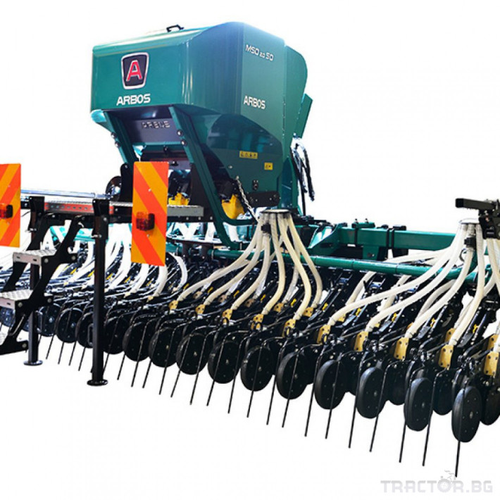Сеялки Пневматична сеялка за зърнени култури ARBOS MSD 2.0 ELEKTRO 0 - Трактор БГ