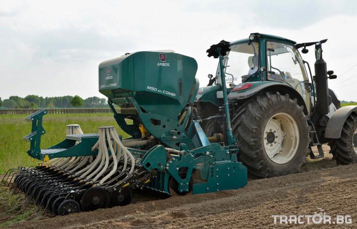 Сеялки Пневматична сеялка за зърнени култури ARBOS MSD 2.0 COMBI 0 - Трактор БГ