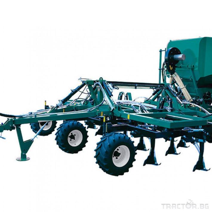 Сеялки Пневматична сеялка ARBOS UST 600- F 1 - Трактор БГ